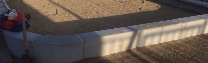 Nieuwe zandbak