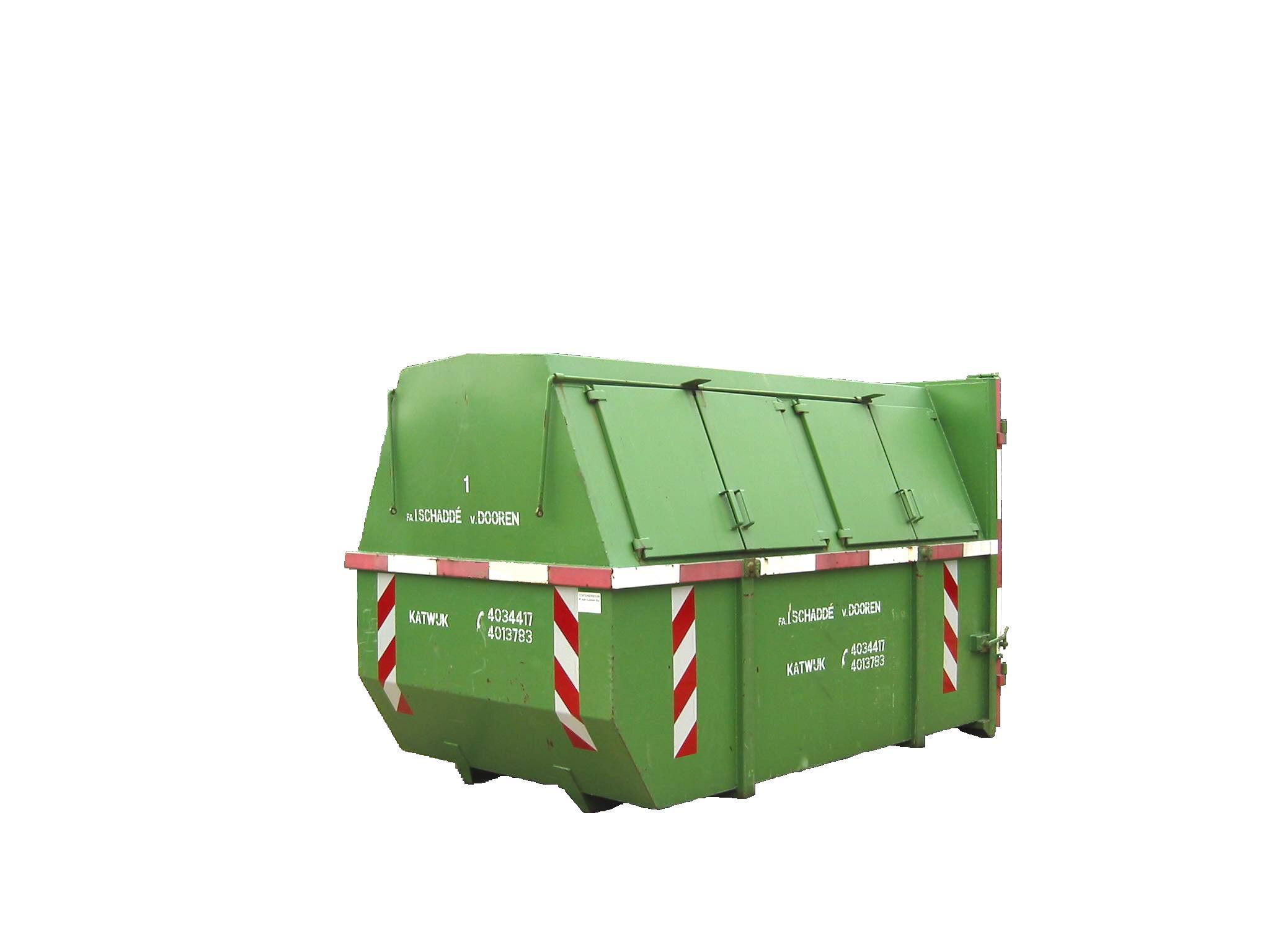 Gesloten container 10m3
